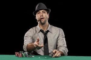 jogador de pôquer