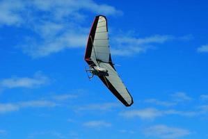 Hang gliding pair