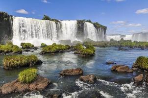 Side view at Iguazu Falls,  Brazil