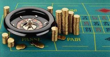 Roulette with Casino Tokens (Fiches)