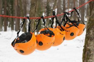 The orange helmets photo