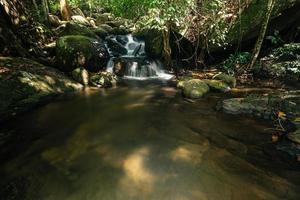 Nature scenery at the Khlong Pla Kang waterfall photo