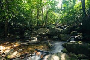 Natural scenery at the Khlong Pla Kang waterfalls photo