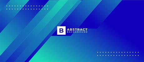 Blue Shape Modern Abstract Background vector