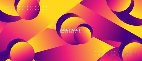 Fondo abstracto de flujo de forma multicolor vector
