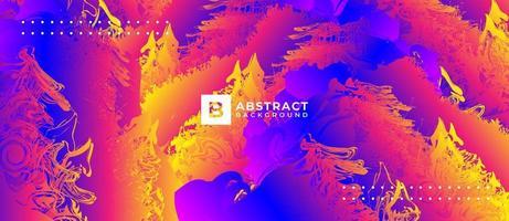 Neon Abstract Background Premium vector