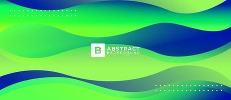 Abstract Wave Gradient Liquid Background vector