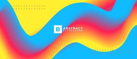 Liquid Color Fluid Flow Colorful Gradient Background vector