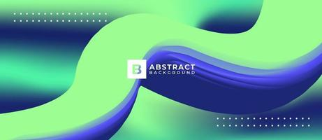 Abstract Background Fluid Design vector
