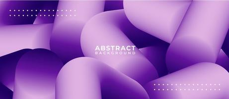 Multicolor Blend Shapes Liquid Abstract Background vector