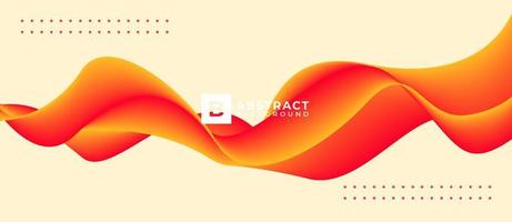 Abstract Background With Multicolored flow Liquid Shapes vector