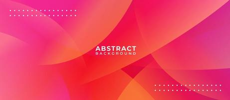 Multicolor Wave Abstract Gradient Background vector