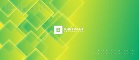 fondo abstracto de forma líquida de vector verde