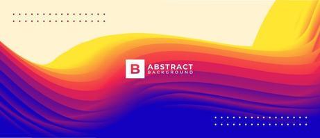 Fondo de formas líquidas coloridas de flujo multicolor abstracto vector