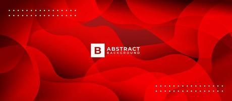 Fondo de onda abstracta de forma de luz roja vector