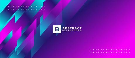 Multicolor Geometric Shape Abstract Background vector