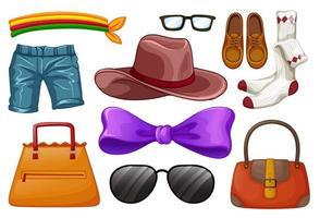 conjunto de accesorios de moda