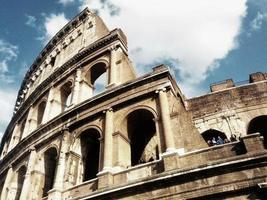 The roman colosseum photo