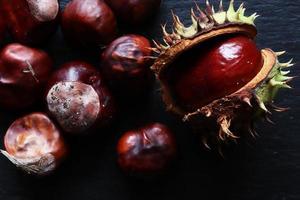 Spanish chestnuts peeled