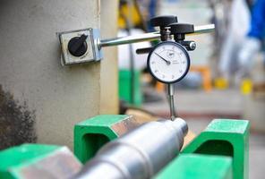 Dial gauge in work space