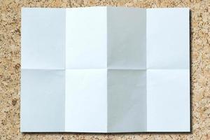 fondo de papel blanco aislado