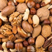 variedad de nueces mixtas