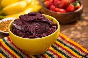 Acai in the bowl