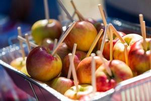 Caramel apples photo