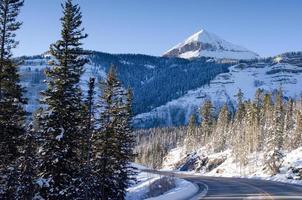 engineer peak with snow, colorado