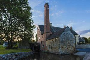 Dusk at the Old Mill photo