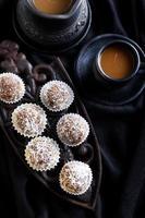 Homemade sweet balls