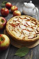 Apple pie. charlotte photo