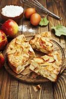 tarta de manzana, charlotte foto