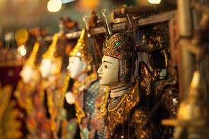 thai puppets.