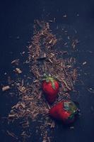 Dark chocolate & Strawberries