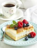 Cake with cottage cheese