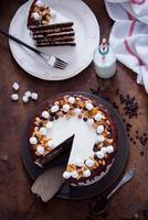 Chocolate Cake Snickers photo