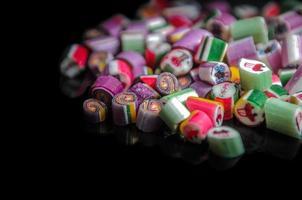 color caramelo en capas foto