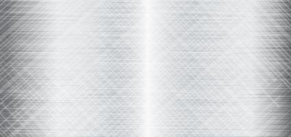Fondo de textura de metal, metal gris vector