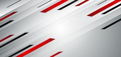 modelo abstrato de cores vermelho e preto