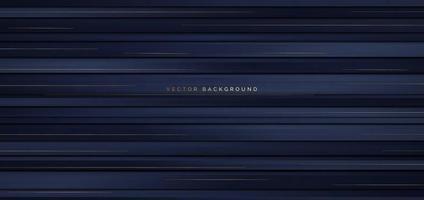 banner abstracto con rayas horizontales azul oscuro
