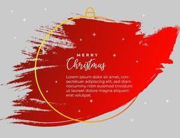 banner respingo vermelho para o natal