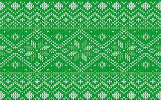 padrão jaquard para o natal com flocos de neve