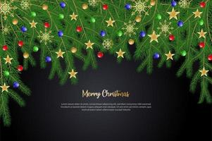 Merry Christmas background design