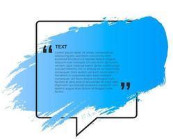 banner azul para citação