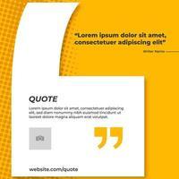 faixa amarela para citação