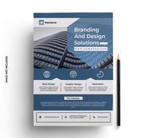 modelo de folheto de negócios design profissional
