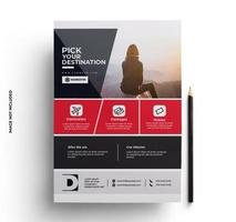 Brochure Flyer design template in A4 size