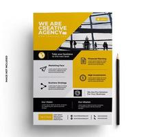Print Ready Business Corporate Flyer Template