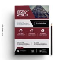 Business Stationery Flyer Brochure Design vector